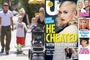 Gwen Stefani i Gavin Rossdale z synami i nianią, Mindy Mann