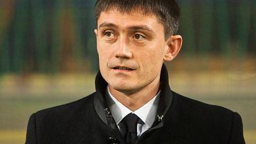 Trener Zawiszy Mariusz Rumak