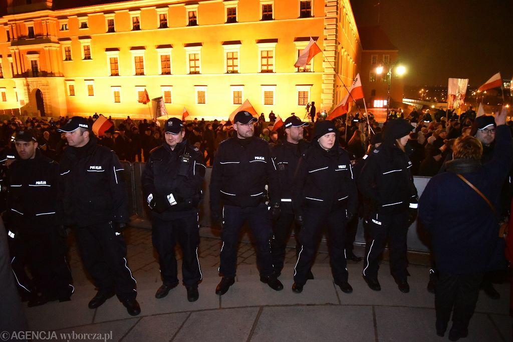 95. miesięcznica smoleńska w Warszawie