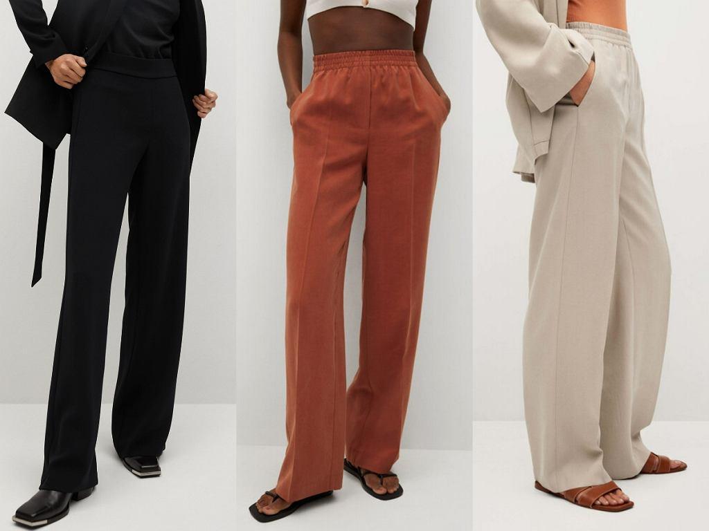 Spodnie z wyprzedaży Mango