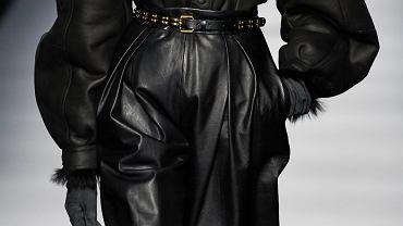 skórzane spodnie Alberta Ferretti AW2020