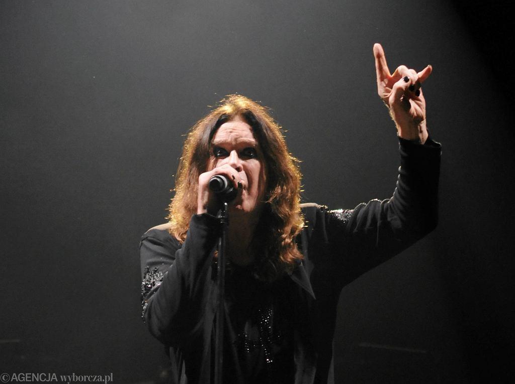 Ozzy Osbourne w Sopocie 2011