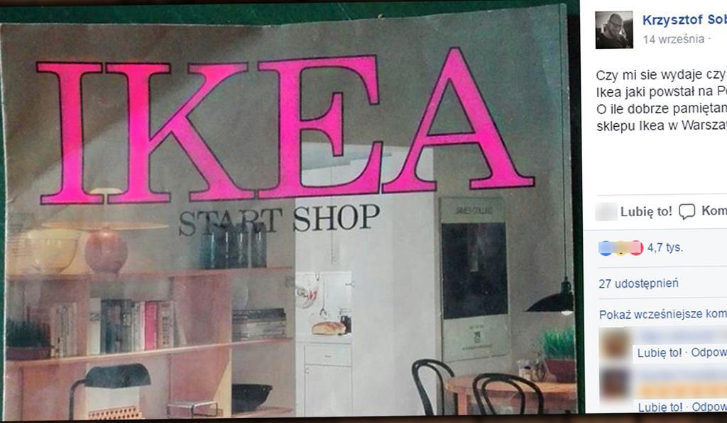 Pierwszy polski katalog IKEA ma już 27 lat