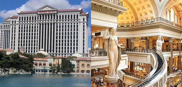 Caesars Palace w Las Vegas (Nevada, Stany Zjednoczone)