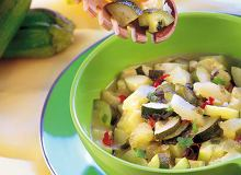 Gulasz z cukinii i melona - ugotuj