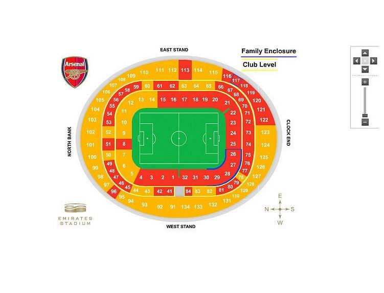 Zapełnienie trybun Arsenalu 5