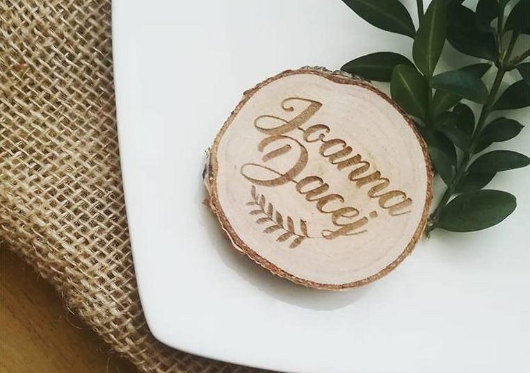 Winietka plaster drewna od JJ Studio