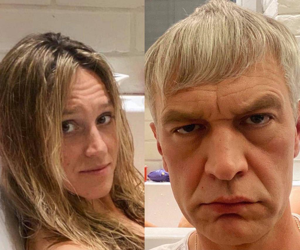 Michał Żebrowski fotografuje żonę w wannie. Mina zdradza wszystko. Fanka: 'Jak szczęśliwi ludzie bez dzieci'