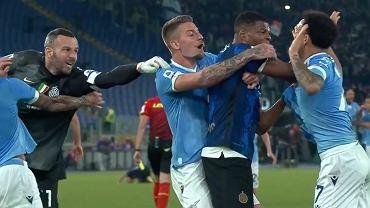Kontrowersyjna sytuacja w meczu Lazio - Inter