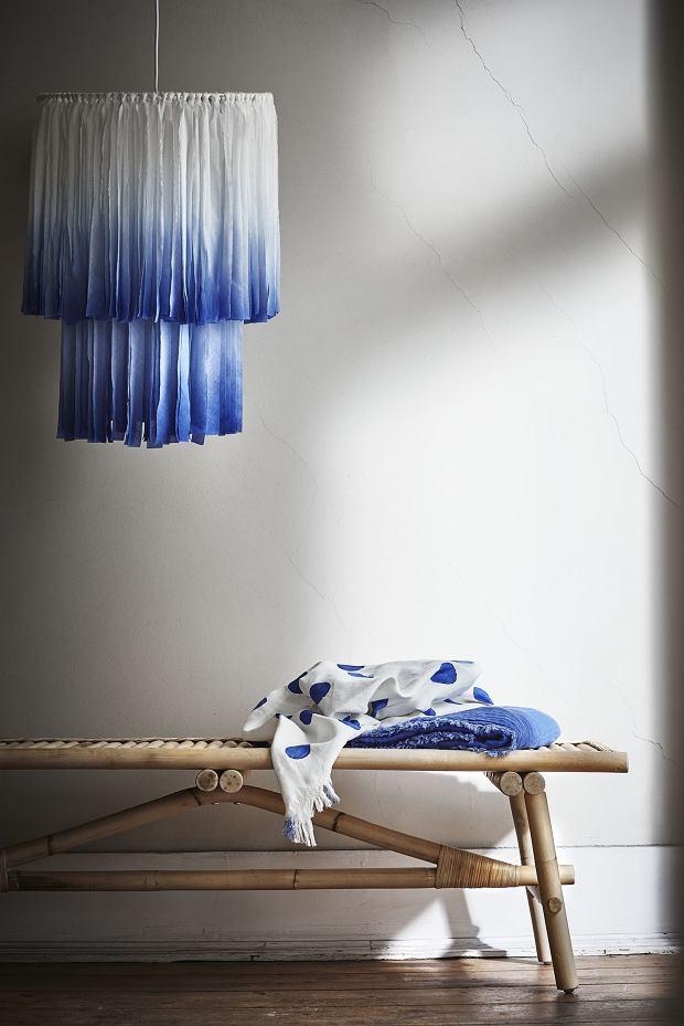 Ławka, wym. 150x45x45 cm, lakierowany bebarwnie rattan, 499 zł