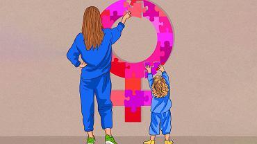 Dzieci uczą się przez obserwację i naśladowanie. Jeśli słyszą, że miękki brzuch i cellulit to powód do wstydu - będą się wstydzić