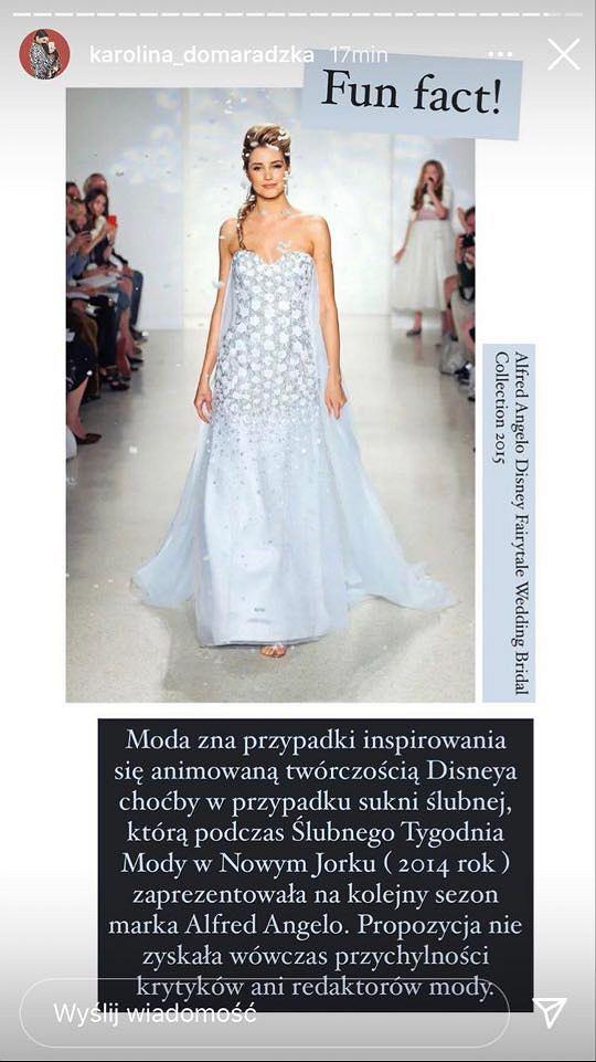 Karolina Domaradzka komentuje stylizację Ewy Bilan-Stoch