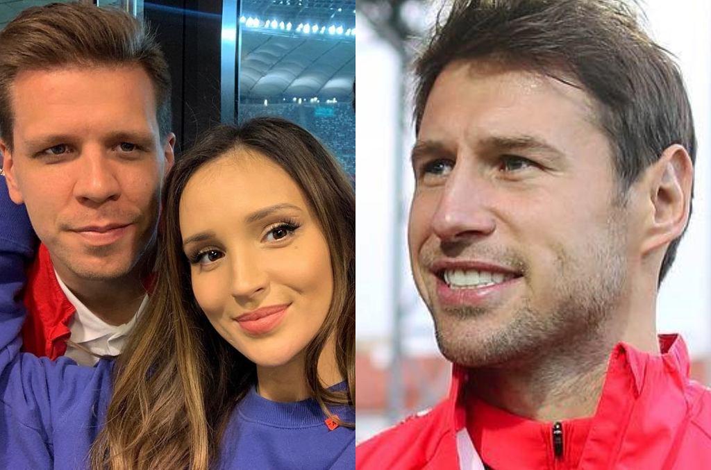 Marina, Wojciech Szczęsny i Grzegorz Krychowiak