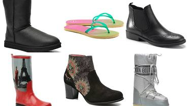 Damskie obuwie o różnych nazwach