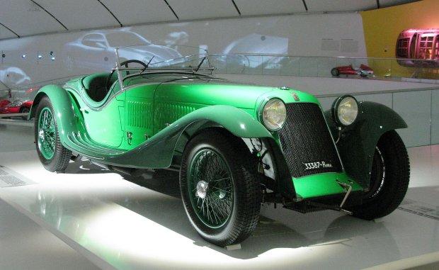 fot. Herranderssvensson   Wikimedia Commons   Maserati Tipo V4 po kuracji w Zagato