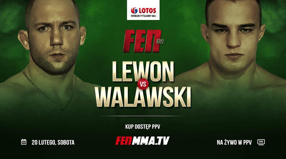 Lewon vs Walawski na FEN
