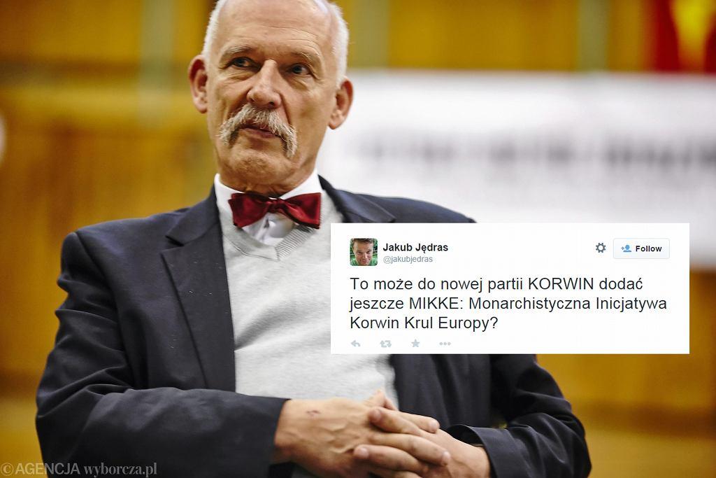 Janusz Korwin Mikke w Łodzi