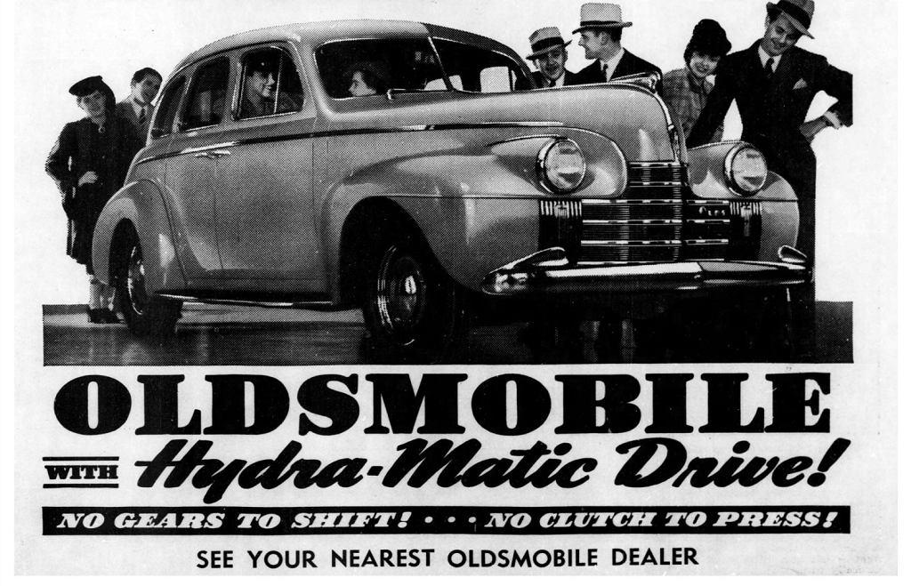 Automatycznie skrzynie biegów - Oldsmobile
