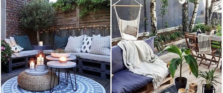 Dodatki do ogrodu i na balkon. Meble ogrodowe, kwietniki, donice, leżaki
