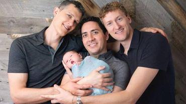 Dziecko ma trzech ojców