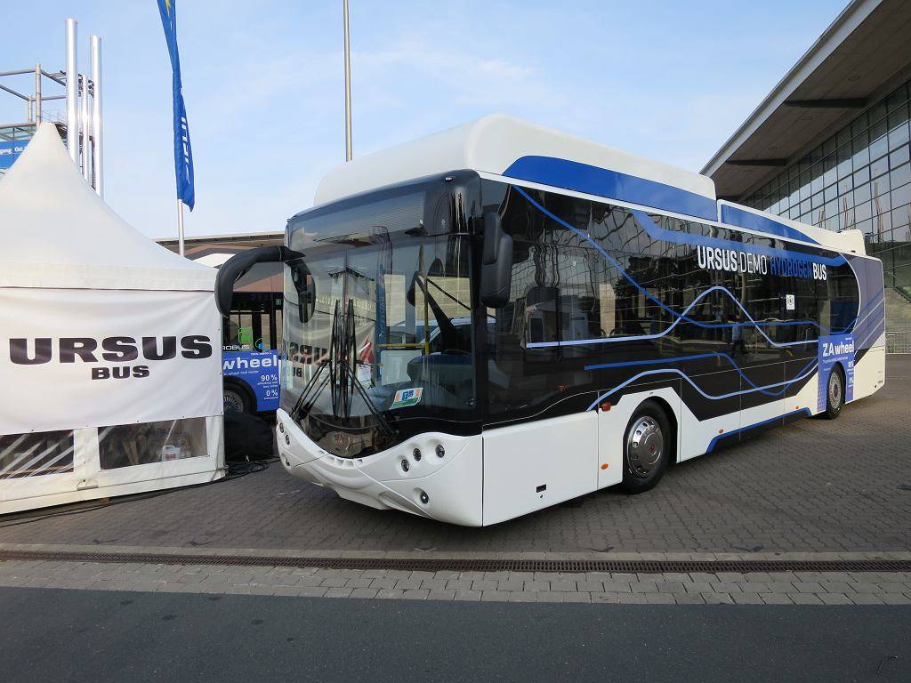 Autobus elektryczno-wodorowy City Smile Fuel Cell Electric Bus