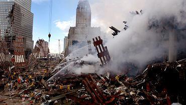 Okolice WTC dwa dni po zamachu 11.09 2001 r.