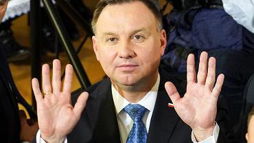 6.03.2020, Andrzej Duda w Szczytnie