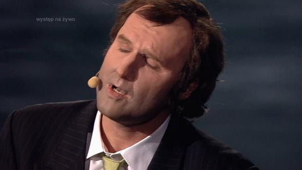 Your Face Sounds Familiar - Karol Dziuba as Phil Collins- Twoja Twarz Brzmi Znajomo