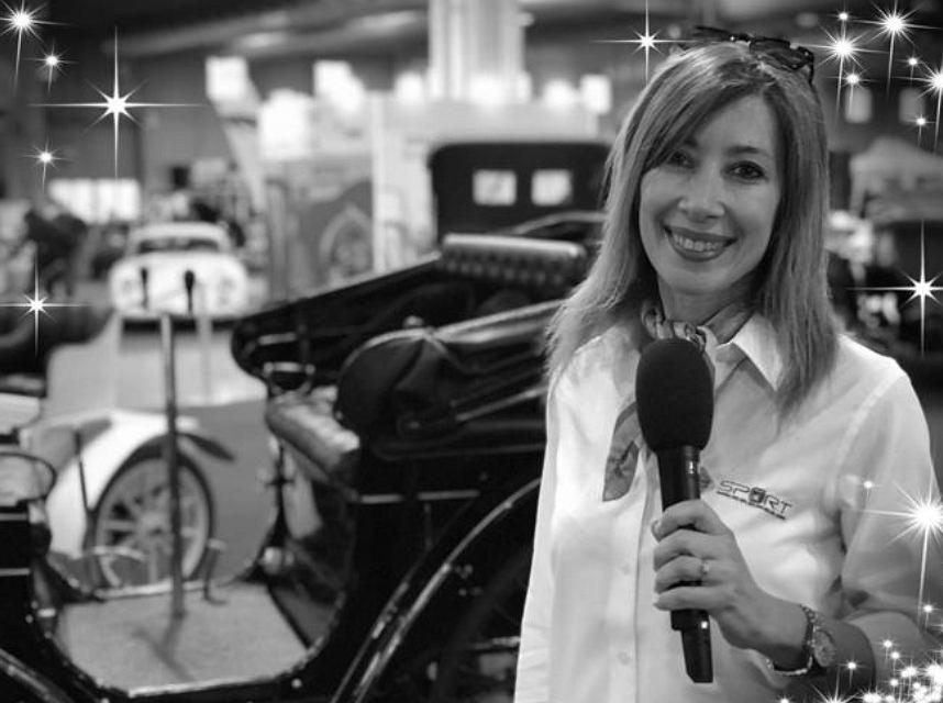 Fiammetta La Guidara włoska dziennikarka motorsportu. Zmarła w wieku 50 lat. Źródło: Twitter (Corriere della Sera)