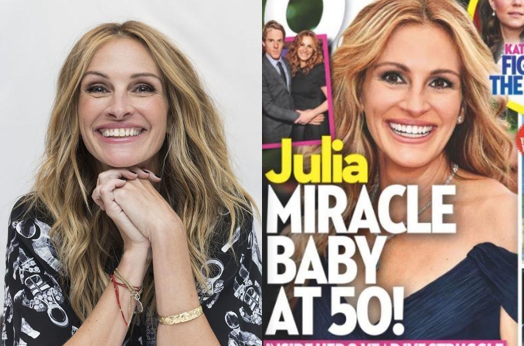 Julia Roberts jest w 4. ciąży?