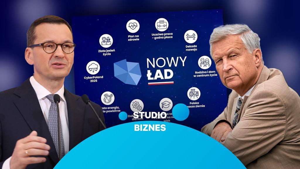 'Studio Biznes' o 'Nowym Ładzie' i podatkach