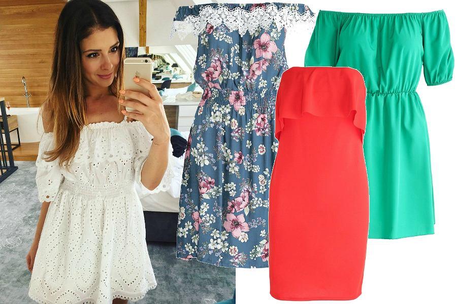 Sukienki na lato - hiszpanki