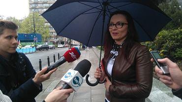 Konferencja Anny Kamińskiej przed Sejmem