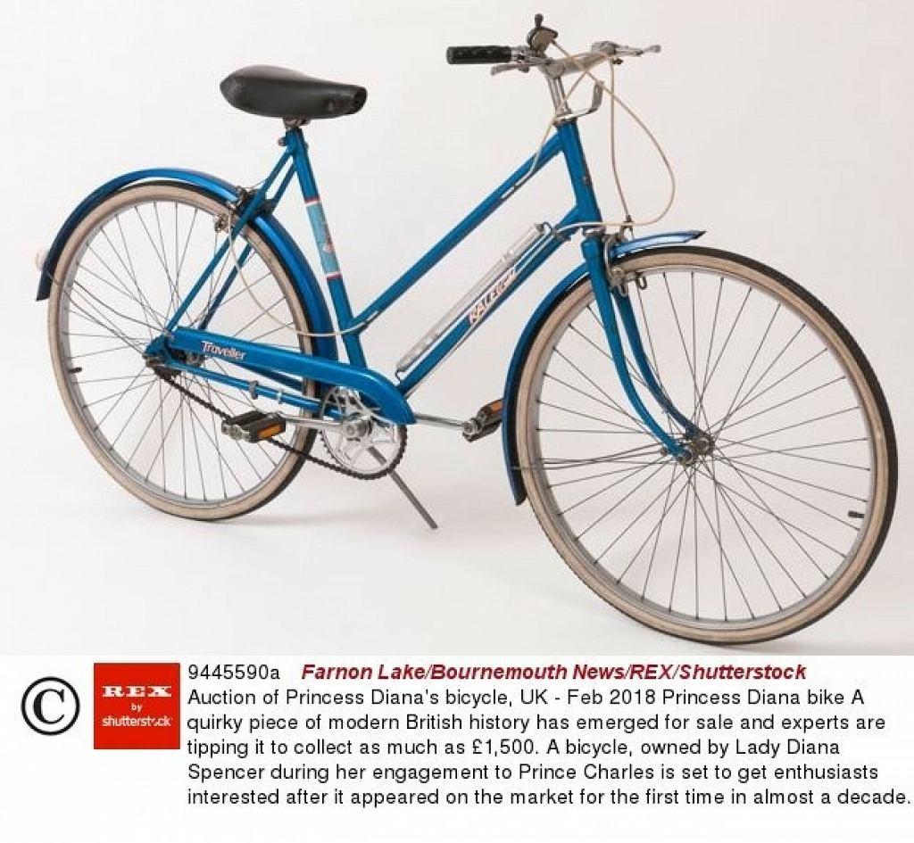 księżna Diana rower