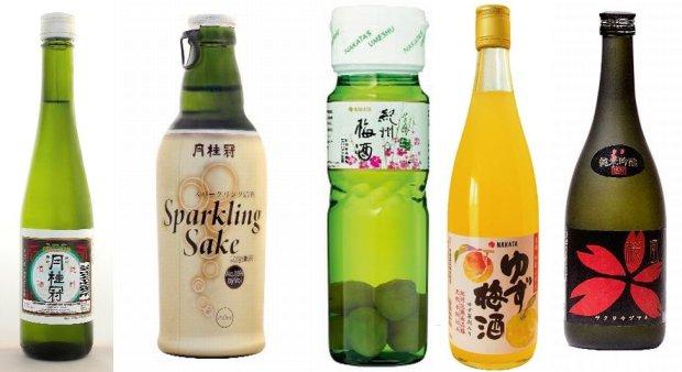 Degustujemy sake