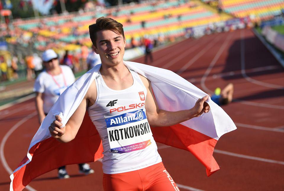 Michał Kotkowski zdobył dwa złote medale w paralekkoatletycznych mistrzostwach Europy w Berlinie