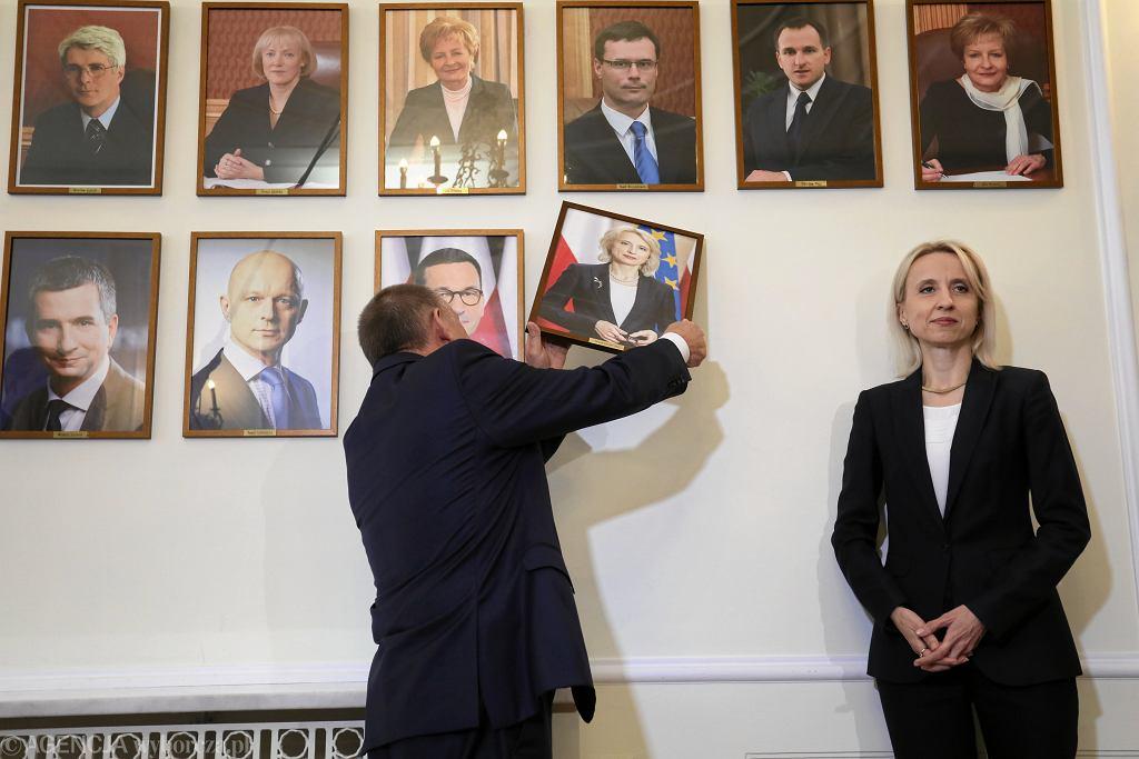 Zmiana ministrów w Ministerstwie Finansów w Warszawie