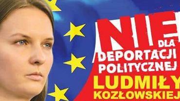 Nie dla politycznej deportacji Ludmiły Kozłowskiej