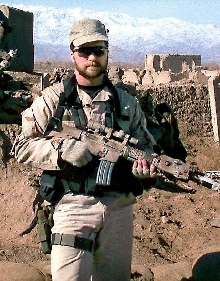 Sierżant John A. Chapman. W momencie śmierci miał 36 lat