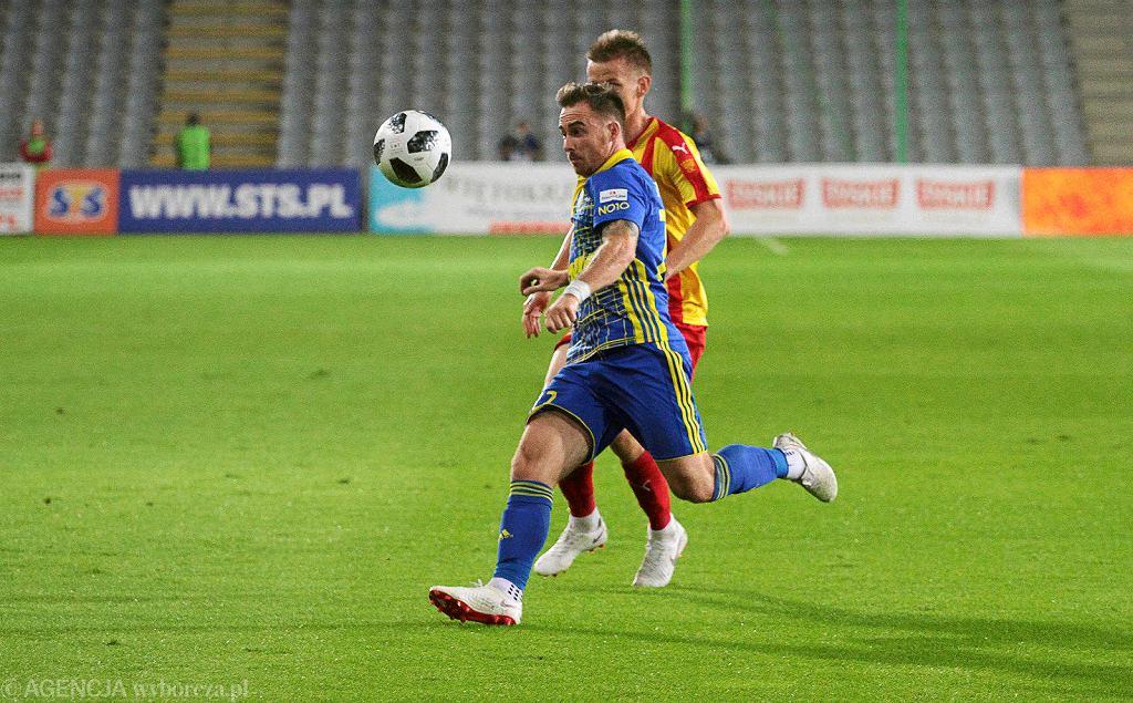 Kielce 24.08.2018, mecz Korony z Arką Gdynia