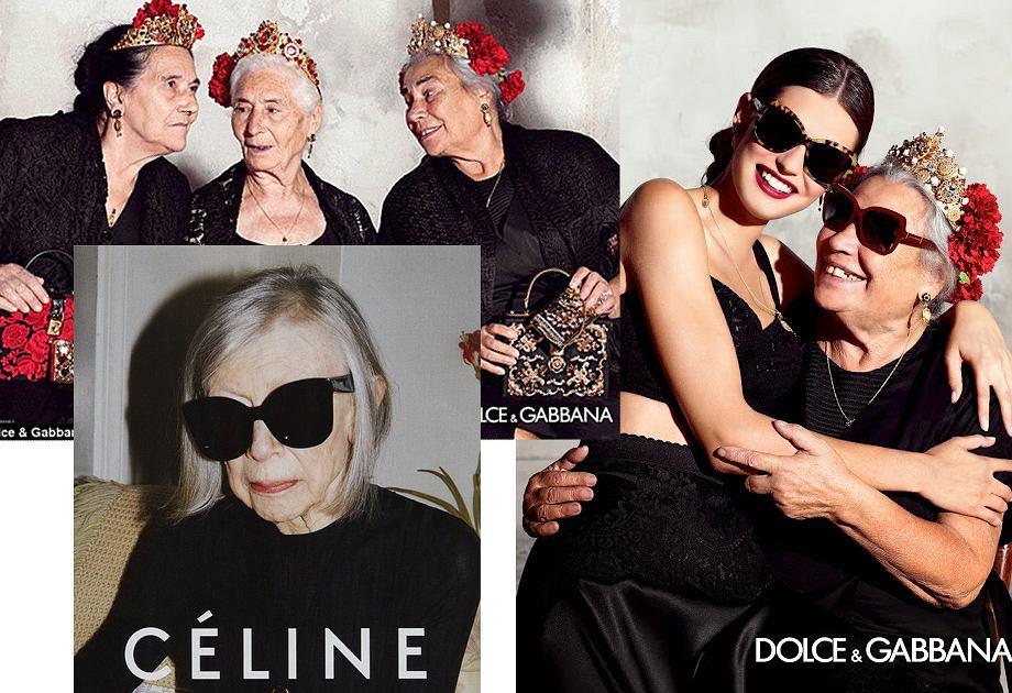 Dolce&Gabbana / Celine kampanie