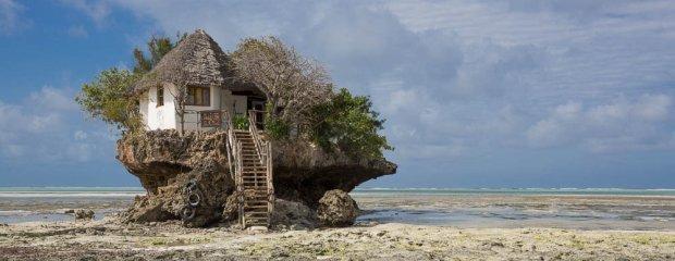 Restauracja The Rock w Zanzibarze