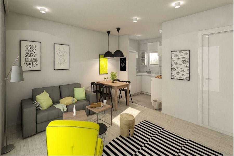 Ciepłe Wnętrze Czyli Kolor żółty W Twoim Mieszkaniu