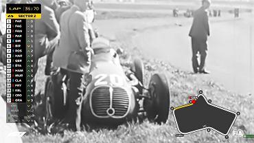Remake pierwszego wyścigu w historii Formuły 1