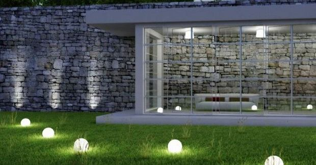 Lampy ogrodowe w kształcie kul
