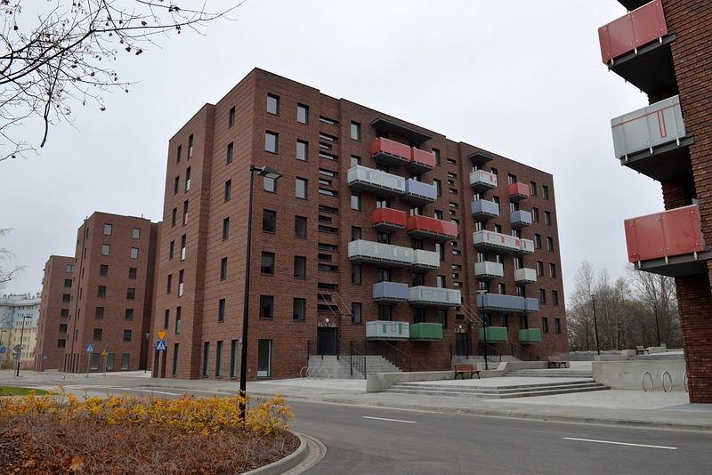Budynki komunalne przy ulicy Jagiellońskiej