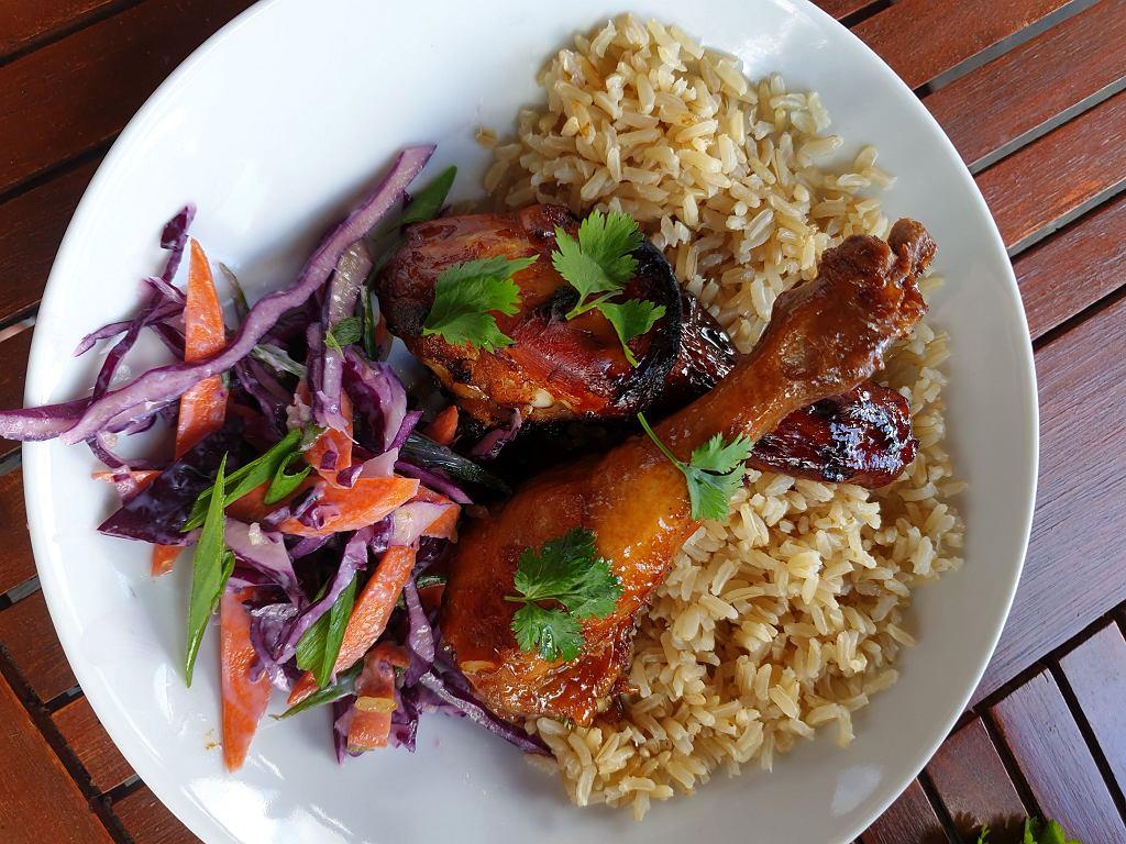Przepis na kurczaka teriyaki.