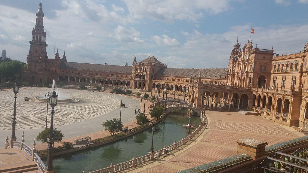 Sewilla, Plac Hiszpański