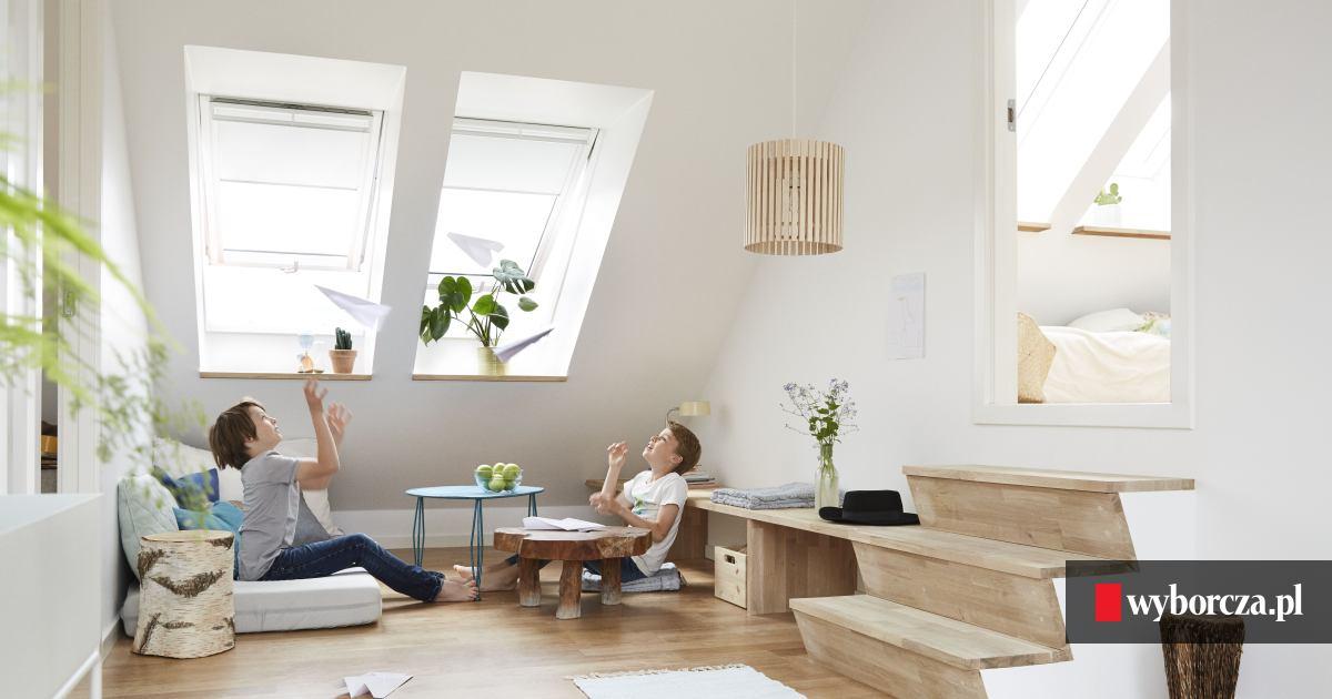 Wspaniały Więcej światła w domu. Funkcjonalne okna na poddasze [FOTO] GF71
