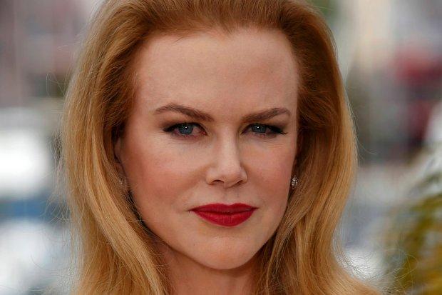 """Nicole Kidman w Cannes w trakcie spotkania promocyjnego do filmu """"Grace, księżna Monako"""""""